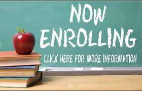 Now Enrolling: Click here for more information